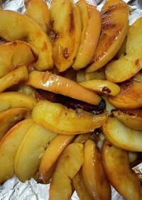 ホットケーキミックスを使ったリンゴケーキ