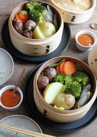韓国風ごま味噌だれで楽しむ温野菜