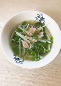 【減塩】ホワイトセロリの食べるスープ