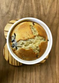 【郷土食】ブルーベリーの蕎麦マフィン