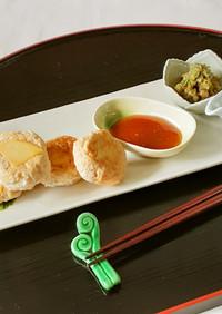 【野菜ソムリエ】京たけのこの和風バーグ