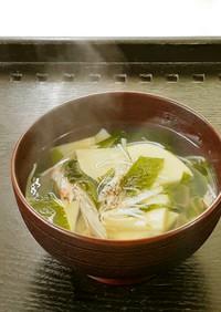 【野菜ソムリエ】中華風若竹スープ