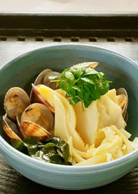 【野菜ソムリエ】京筍とあさりのサッと煮