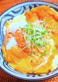 牡蠣フライの卵とじ