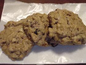 シリアル入りクッキー