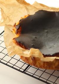 オトナの酒粕バスクチーズケーキ