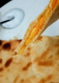 炊飯器で簡単 チーズナン