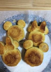 ダイソーのシリコン型でパイナップルケーキ