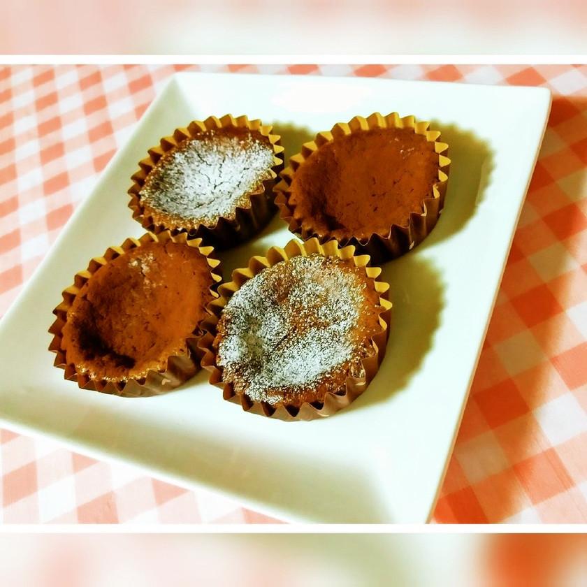 業スーのクリチでチョコチーズケーキ☆簡単