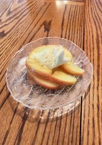 古いリンゴのリメイク!簡単焼きりんご