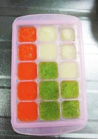 離乳食初期♡冷凍野菜ミックス♡再冷凍OK