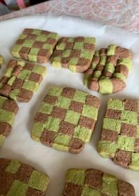 炭治郎の市松模様クッキー