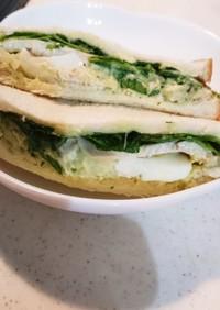鶏ハムアボカドサンド