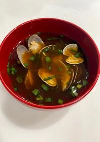 【南蔵】豆みそであさりの味噌汁