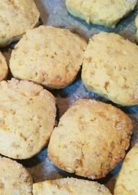 シュガークッキー ザラメでザクザク