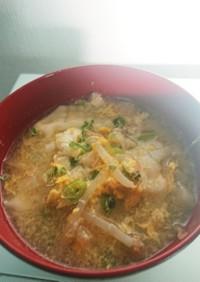 ☆余りの冷凍餃子で本格中華スープ