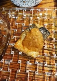簡単サバ味噌煮