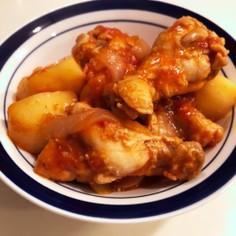 チキンのトマト煮込み(圧力鍋)