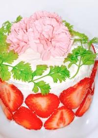 あまおうイチゴのスマッシュケーキ