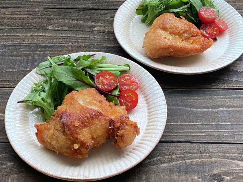鶏むね肉deジューシーチキン竜田揚げ!