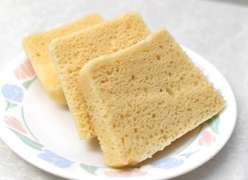 レンジでできる!米粉パン(卵使用)