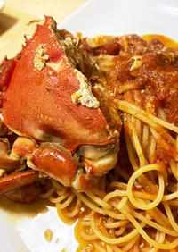 マルガニのトマトソースパスタ
