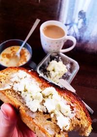 文明の利器を使わない発酵バター作り