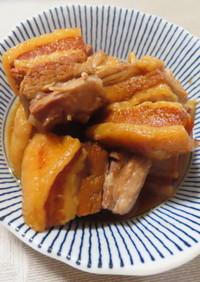 クックフォーミー(電気圧力鍋)で豚の角煮