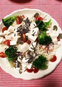 サッパリ豆腐サラダ