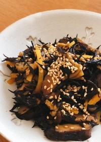 コストコ 椎茸クリスプとヒジキの煮物