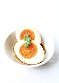 焼豚のたれで簡単漬け卵【甘胡椒味玉】