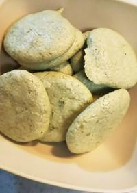 抹茶きなこのしゅわしゅわマカロンクッキー