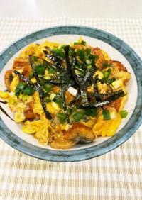 うなたま丼(うなぎの卵とじ)