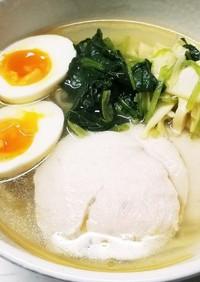筍&鶏ハム♪ラーメン
