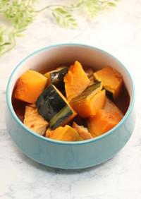 簡単!かぼちゃと厚揚げの甘辛煮