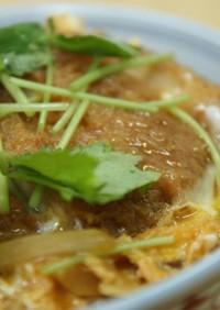 カツ丼(丼ものつゆ黄金比)