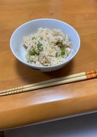 【簡単】グリンピースの豆ご飯