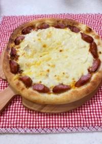 ラザニア風ピザ(ミート&ホワイトソース)