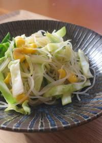 春雨サラダ/七尾市給食