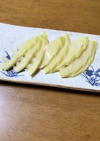 筍の刺身&リメイク