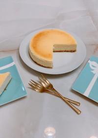 超簡単♡ニューヨークチーズケーキ