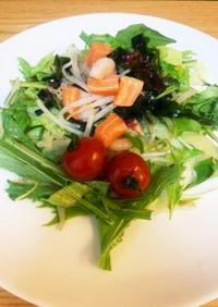 残り物で!海鮮サラダ