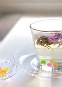 白湯やハーブティーに金平糖でほんのり甘く