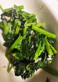 かき菜の空芯菜風炒め
