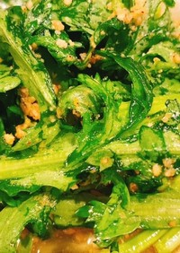 スティック春菊のサラダ