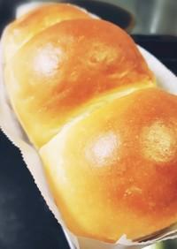 短時間◎しっとり◎はちみつ入り食パン