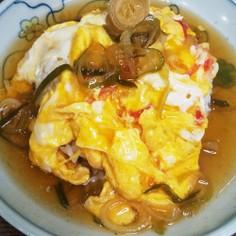 天津飯(醤油あん)