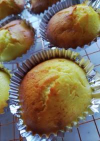 オレンジジュース入りカップケーキ