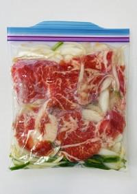 【下味冷凍】豚バラの南蛮炒め