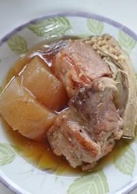 麺つゆとみりんで 炊飯器DE角煮